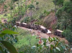 Déraillement de wagons Moramanga